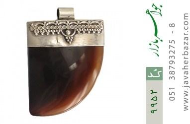 مدال عقیق فریم دست ساز - کد 9952