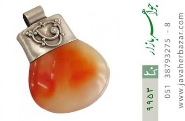 مدال عقیق حکاکی شرف الشمس فریم دست ساز - کد 9953