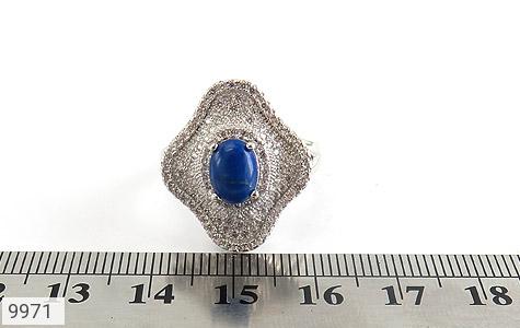 انگشتر لاجورد طرح سلطنتی زنانه - تصویر 6