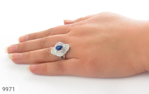انگشتر لاجورد طرح سلطنتی زنانه - عکس 7