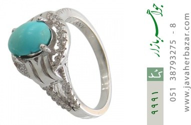 انگشتر فیروزه نیشابوری - کد 9991
