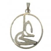 مدال نقره نام علی درشت کد 7134
