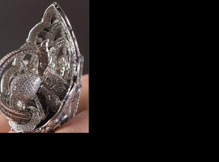 انگشتر Tsarevna Swan رکورد دار بیشترین الماس