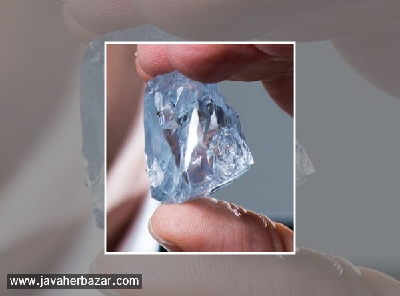 رونمایی از بزرگترین الماس آبی توسط شرکت Petra Diamonds