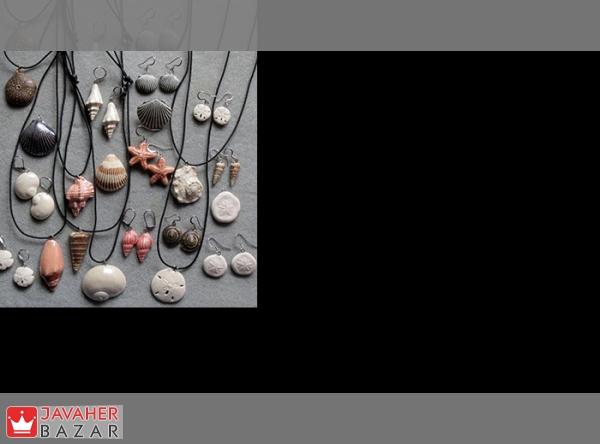 جواهرات ساخته شده از صدف