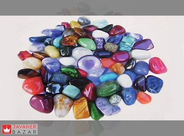 خواص درمانی سنگهای طبیعی بر اساس رنگ آنها