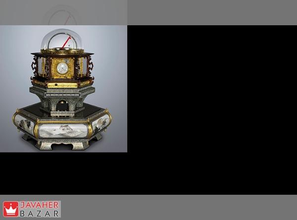 یکی از زیباترین و خارق العاده ترین ساعتهای رو میزی