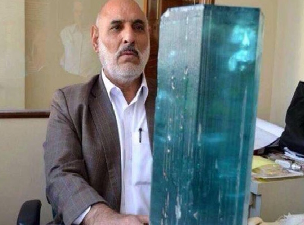 کشف بزرگترین زمرد جهان در افغانستان