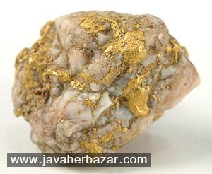 فراوانی عنصر طلا در کره زمین