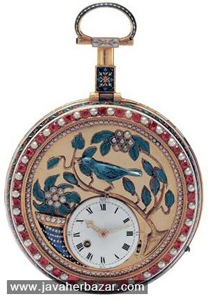 ساعتهای جواهرنشان در نمایشگاه عتیقه جات