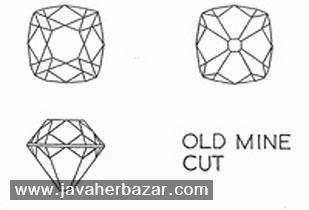 برش Old Mine Cut در سنگهای قیمتی