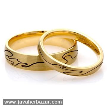 چندین نمونه از زیباترین حلقههای ازدواج طلا