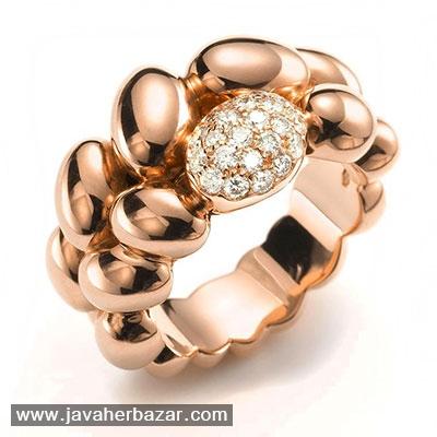 طراحی جدید جواهرات با استفاده از گوهرهای تراش دامله