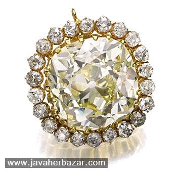 الماس زرد سلطان احمد شاه قاجار
