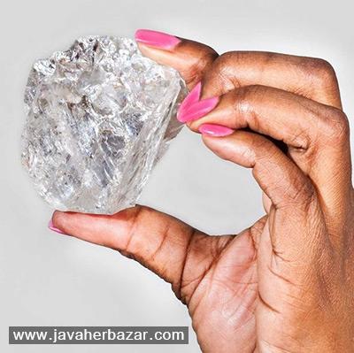 منطقه ای دارای الماسهای عظیم