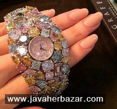 ساعت Hallucination، زیباترین ساعت الماس نشان در دنیا