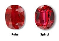 تفاوت گوهرهای یاقوت سرخ و اسپینل