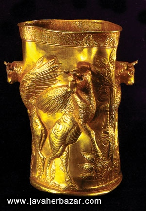 اولین سکه ضرب شده از طلا در تاریخ توسط هخامنشیان
