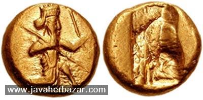 سکه دریک و شکل، اولین سکهها در دوره هخامنشیان