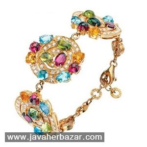 تاثیرات استفاده از رنگهای شاد و هیجان انگیز در جواهرات