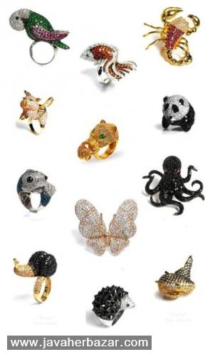انگشترهای جواهر نشان کمپانی نوار (Noir)