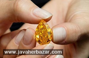 بزرگترین الماس نارنجی در جهان