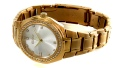 ساعت گوچی Gucci طلایی مجلسی دورنگین زنانه - کد 16981