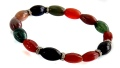دستبند دلربا و عقیق و جاسپر هلی و جذاب زنانه - کد 16988