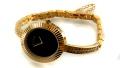 ساعت رمانسون Romanson طلائی مجلسی پرنگین زنانه - کد 17500