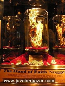 The Hand of Faith یکی از بزرگترین قطعات طلا کشف شده در جهان