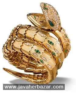 مجموعه ای از مارهای جواهر نشان برند بولگاری