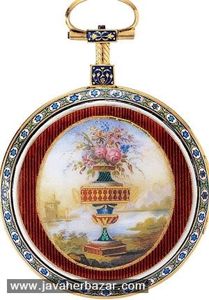 ساعت های جواهرنشان در نمایشگاه عتیقه جات