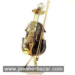 سمفونی آلات موسیقی از جنس سنگ های قیمتی