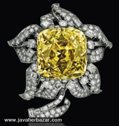 الماس زرد Allnatt Diamond