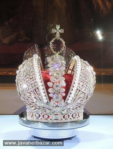 تاج سلطنتی کشور روسیه