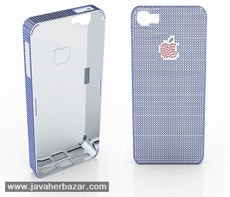 گرانقیمت ترین کاور جواهرنشان گوشی آیفون 5 اپل