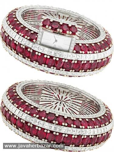 جواهرات زنانه دارای ساعتهای پنهان