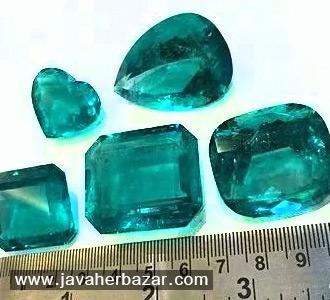 معیارهای تعیین ارزش سنگهای قیمتی (اندازه و شکل)