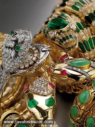 دلیل استفاده از نماد مار در طراحی جواهرات بولگاری