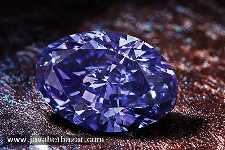 بزرگ ترین الماس بنفش از معدن آرگیل استخراج شد