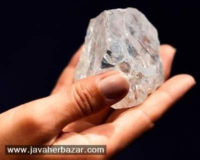 حراج دومین الماس بزرگ جهان با شکست مواجه شد