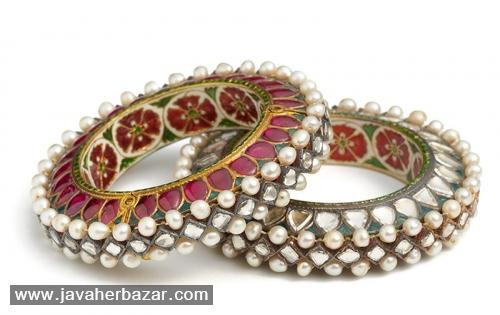گوشه ای از خزانه جواهرات سلطنتی هند