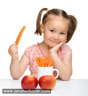 کودکان میوه را با پوست بخورند یا پوست کنده؟