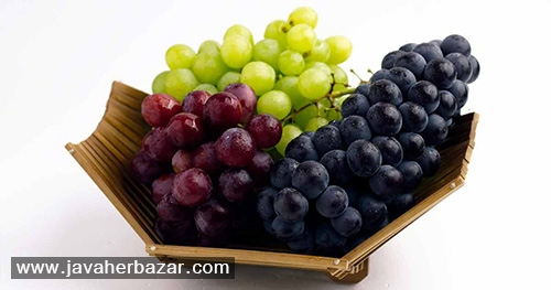 خواص و فواید انواع مختلف میوه انگور