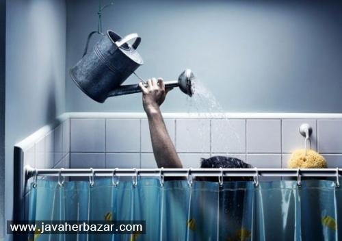 هر روز حمام نکنیم.
