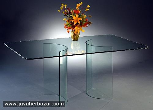 چگونه خط و خش ها را از میزهای شیشه ای پاک کنیم