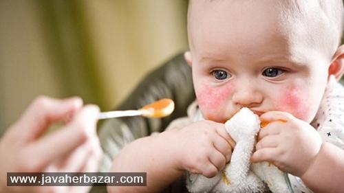 علائم و درمان حساسیت غذایی کودکان