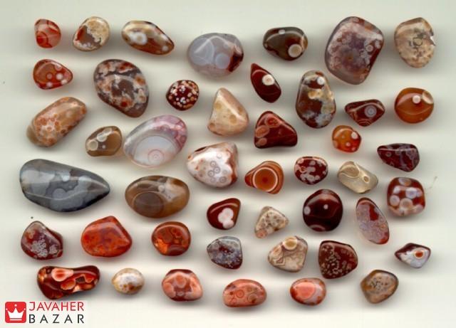 انواع سنگ عقیق