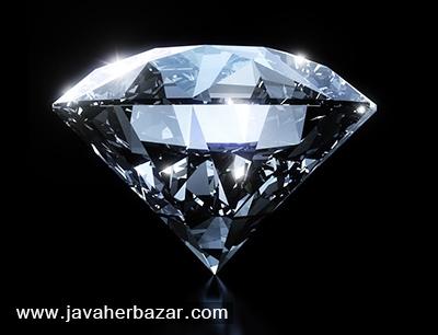 نگین الماس درخشان
