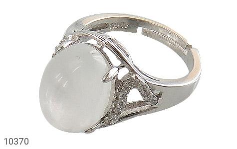 انگشتر نقره در نجف طرح رخساره زنانه - 10370